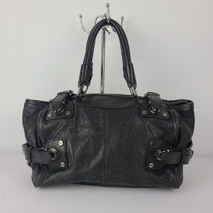 Kenneth Cole Black Leather Purse